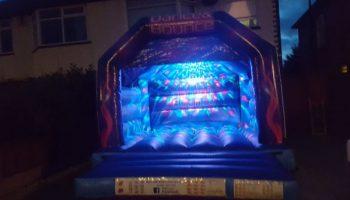 Disco Bouncy Castle - Southport Bouncy Castles