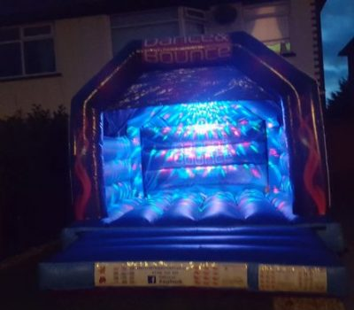 Disco Bouncy Castle - Southport Bouncy Castles