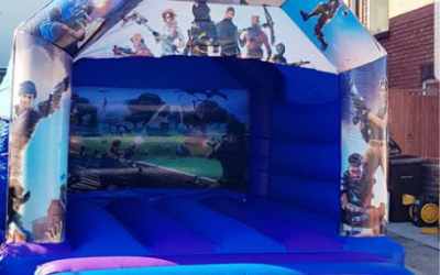 Fortnite Bouncy Castle - Southport Bouncy Castles