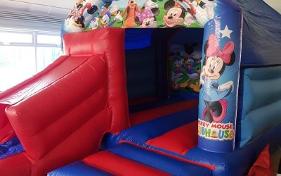 Southport Bouncy Castles Mickey Mouse Clubhouse Bouncy Castle Hire