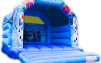 Frozen Bouncy Castle - Southport Bouncy Castles