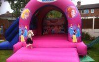 Disney Princess Bouncy Castle & Slide - - Southport Bouncy Castles