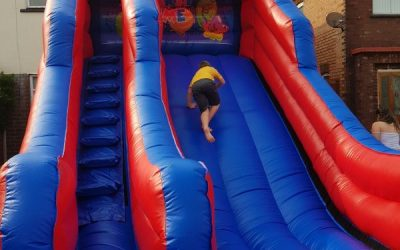 Mega Bouncy Slide - - Southport Bouncy Castles